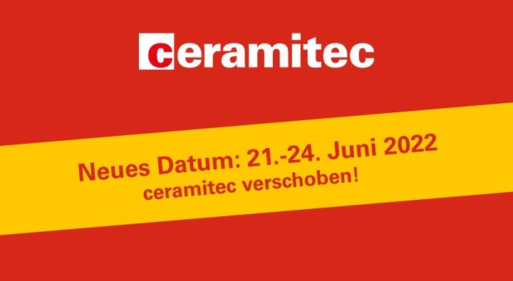 ceramitec 2021 auf Juni 2022 verschoben